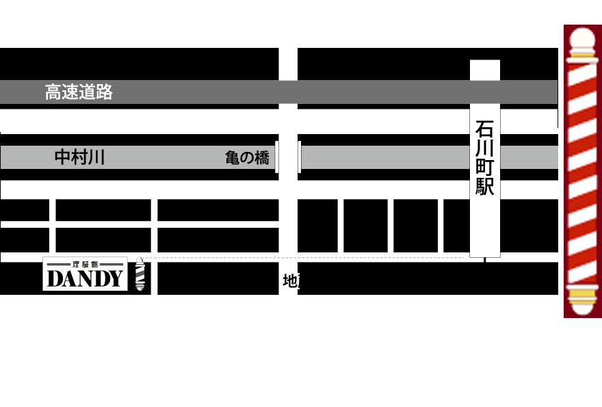 横浜市 石川町 床屋 理容室-男性専用サロン